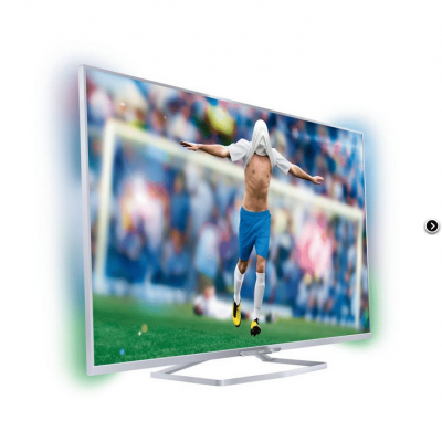 "PHILIPS SMART 3D LED AMBILIGHT TV 55"" 55PFS6609 - bekredito.lt"