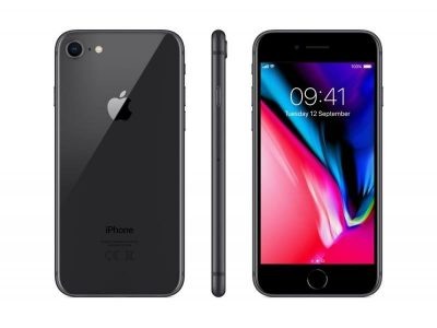 Apple  iPhone 8 64GB, Pilka - bekredito.lt