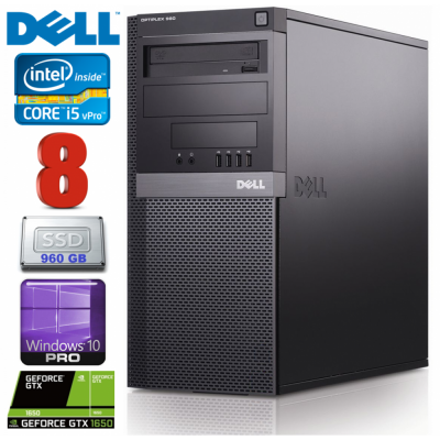 Dell 980 MT i5-650 8GB - bekredito.lt