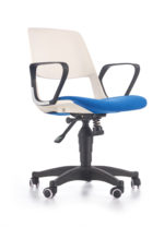 JUMBO o.chair, color: white / blue - bekredito.lt