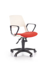 JUMBO o.chair, color: white / red - bekredito.lt